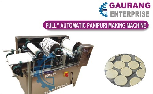 Fully Automatic Pani Puri Maker-PPM4K