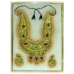 Marble Gold Jewellery Painting