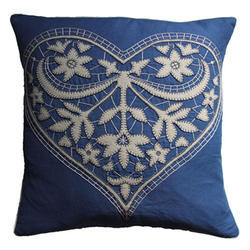 Laser Services on Pillow Cover