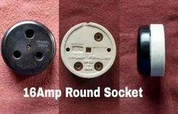 Heavy Duty 3 Pin Socket 16 Amps