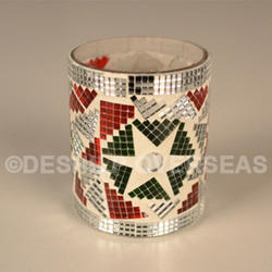 Colorful Mosaic Votive