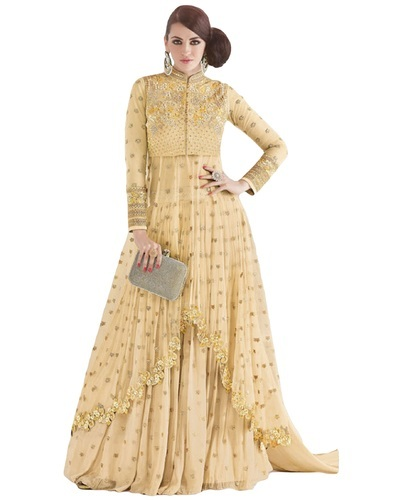 Exclusive Gown - Anarkali Semi-Stitched Suits Manufacturer from Surat