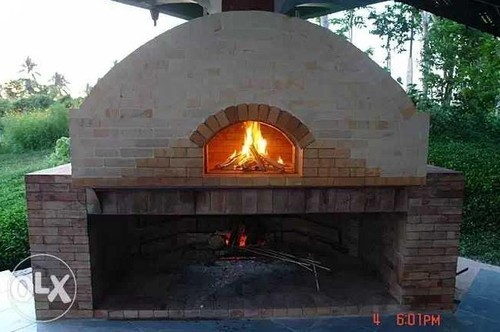 Old Fashioned Brick Oven