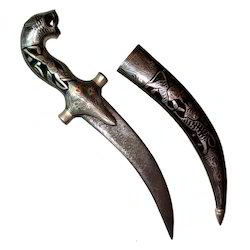 Antique Dagger With Inlay Work