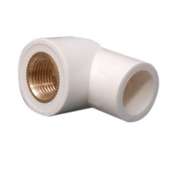 UPVC Brass Elbow 1x3/4