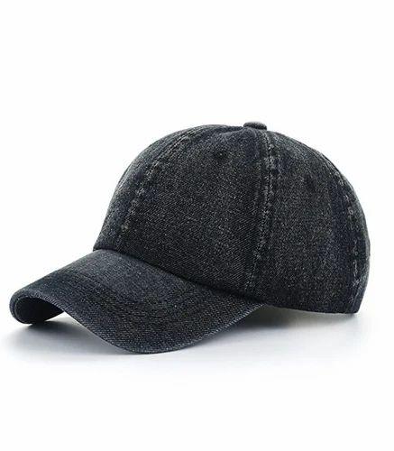 Caps - Vintage Washed Dyed Denim Adjustable Baseball Cap ... 832c33b6898c