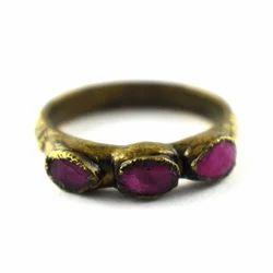 Ruby Gemstone Finger Rings