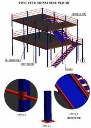 Two Tier Mezzanine Floor