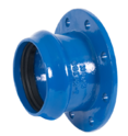 Flanged Socket All Dimension In (MM)