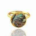 Abalone Gemstone Rings