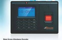 Real Time Attendance Machine