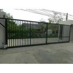 mild steel gates automatic ms sliding gate manufacturer from hyderabad