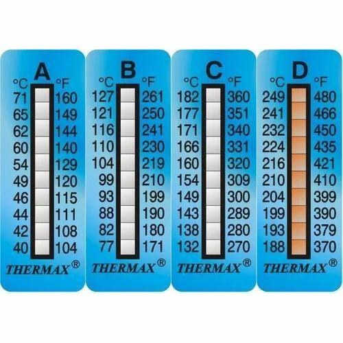 Thermamax temperature strip