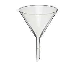 Glass Funnel for Filtration