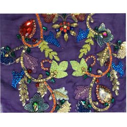 Designer Embroidery Sequins Work