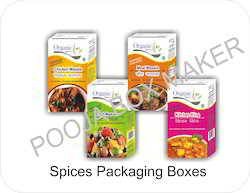 Spices Packaging Boxes