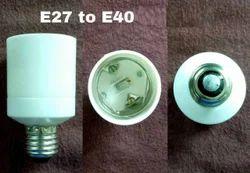 Adapter E27 To E40