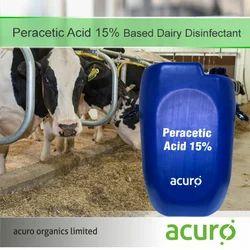 Peracetic Acid 15% Based Dairy Disinfectant