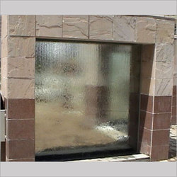 Glass Water Curtain