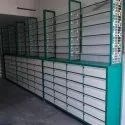 Mild Steel Medical Shop Rack