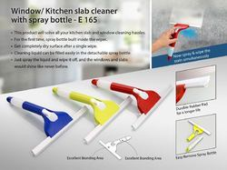 Window/ Kitchen Slab Cleaner With Spray Bottle