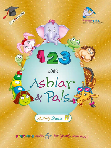 KG 1 Books - 123 Activity Sheets-II Manufacturer from Noida