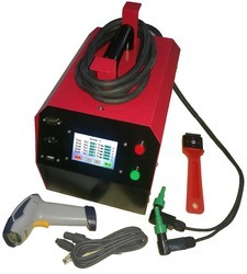 Electrofusion saddle welding machine
