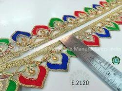 Embroidered Lace E2120
