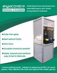 Corona Testing Booth