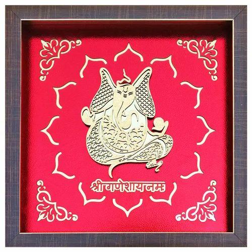 3d Religious Frame 3d Ganesha Frame Manufacturer From Delhi