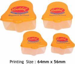 Printed Plastic Container Set