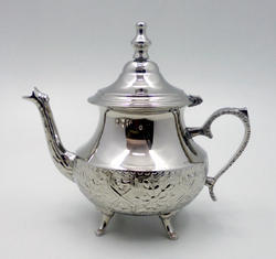 Brass Moroccan 8 CC Tea Pot