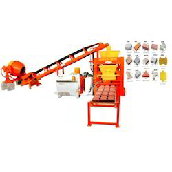 6 Bricks Fully Automatic Colour Paver Machine (S9 )