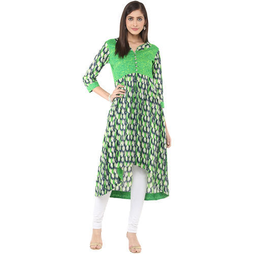 Fashionable Women's Long Anarkali Kurti