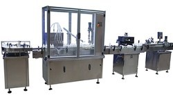 Fully Automatic Bottle Filling and Capping Machine