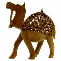 Wooden Undercut Work Katidar Camel