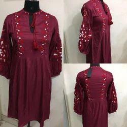 Parory Embroidary Dress