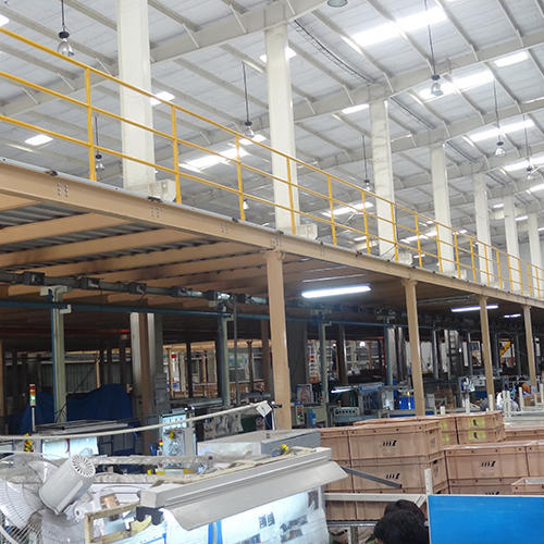 Trimix Flooring Services : Industrial shed fabrication delhi ncr and
