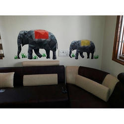 Elephant Imported Wallpaper