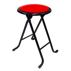 Kawachi Folding Portable Chair Cum Stool for Outdoor, Office and Home Use