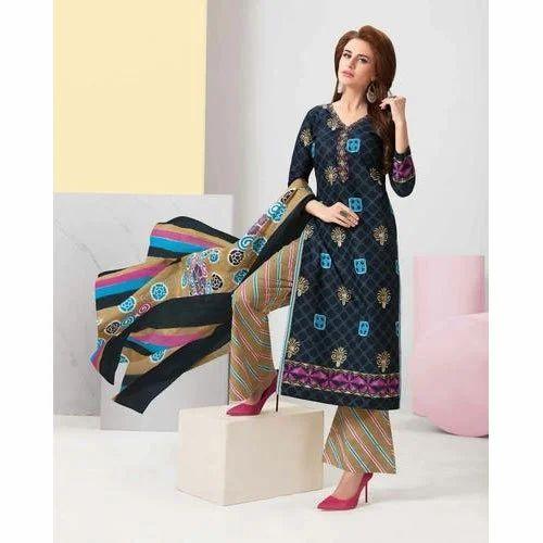 dd82b29131 BALAJI COTTON - Balaji Chitra vol-19 Ladies Dress Material Wholesale ...