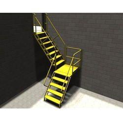 Conveyor Platform Stairs