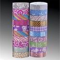 Decorative Paper Tape Roll