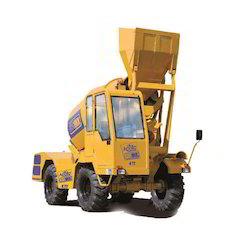 Custom Made Fine Finish Self Loading Concrete Mixer