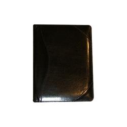 black leather portfolio album