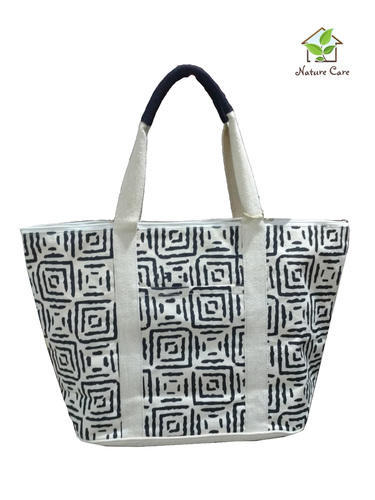 Canvas Bags With One Colored Screen Print