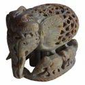 Soapstone Baby Elephant