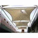 Tensile Fabric Atrium Roof