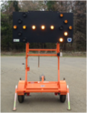 PORTABLE MOBILE ELECTRIC MESSAGE  BOARDS