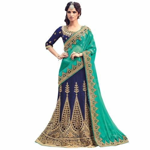 18bee10c0c Net Lehenga Saree at Best Price in India